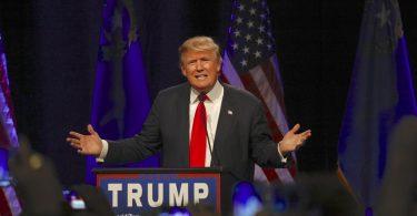 Donald Trump à une conférence