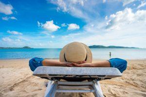 vacances au bord de la plage