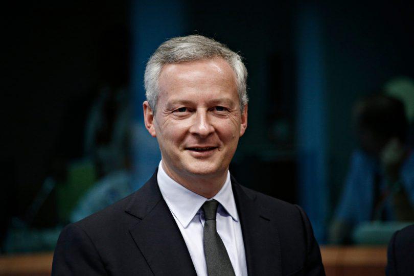 Bruno Le Maire à une conférence