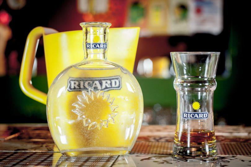 Verres de marque Pernod Ricard