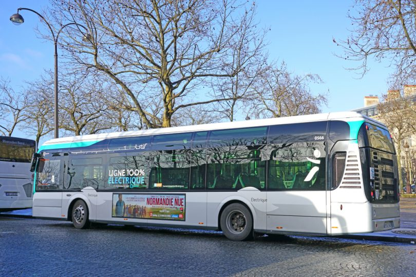 un autobus RATP