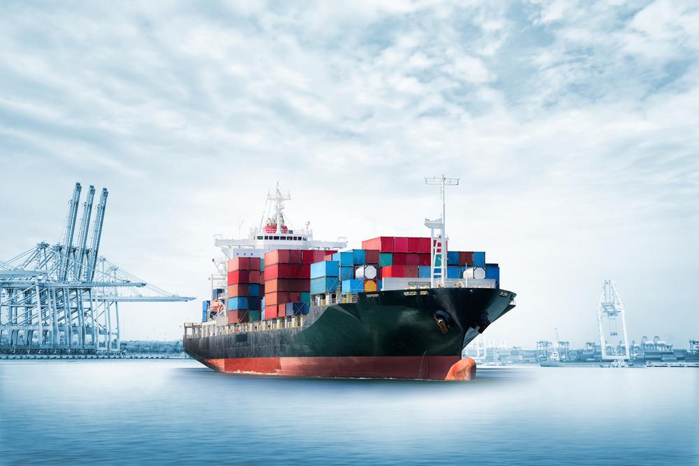 un navire pétrolier