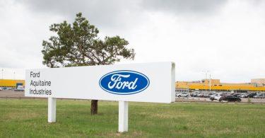 Panneau Ford Acquitaine