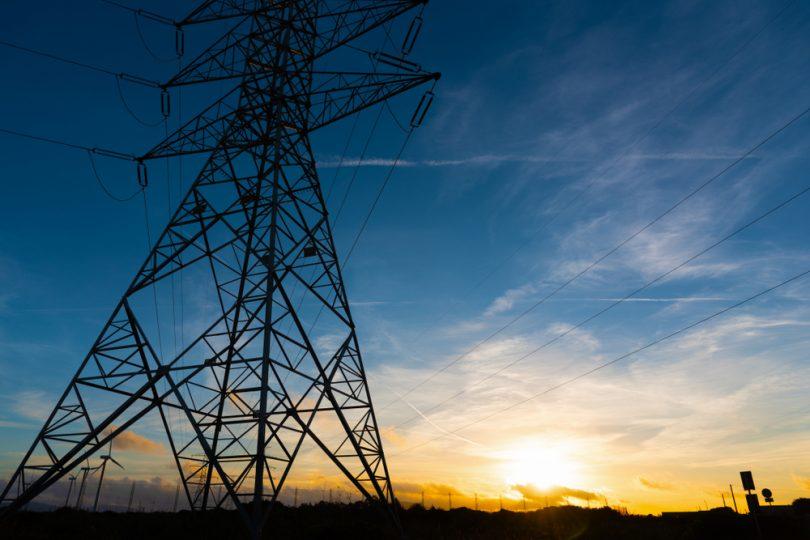 un pylône électrique