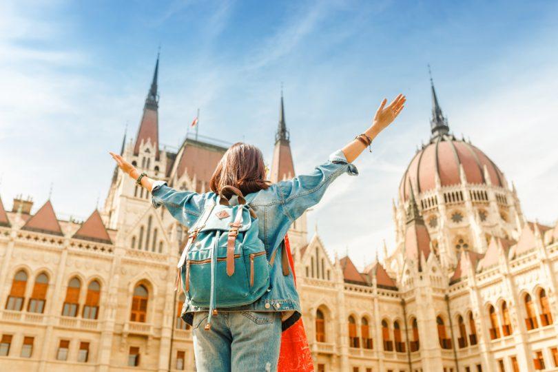 Touriste en Europe