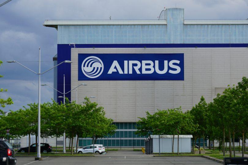 plaque Airbus