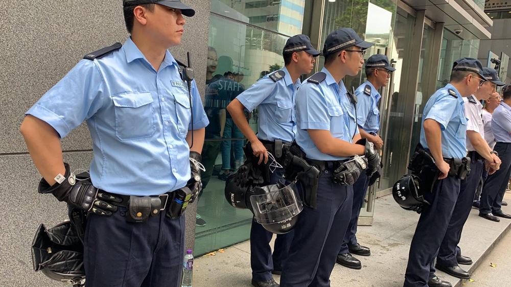 hongkong policiers