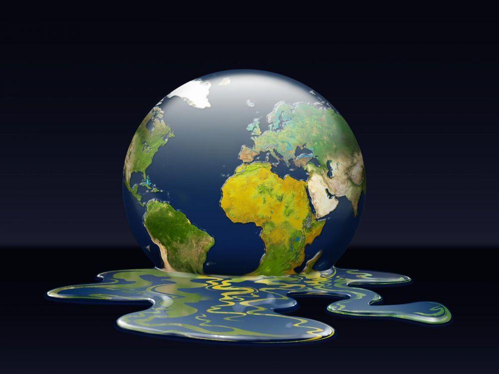 la planete se fond