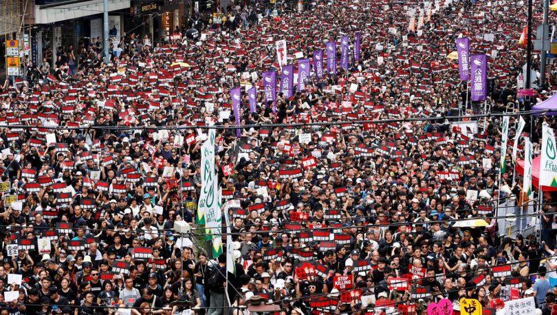 manifestation Hongkong