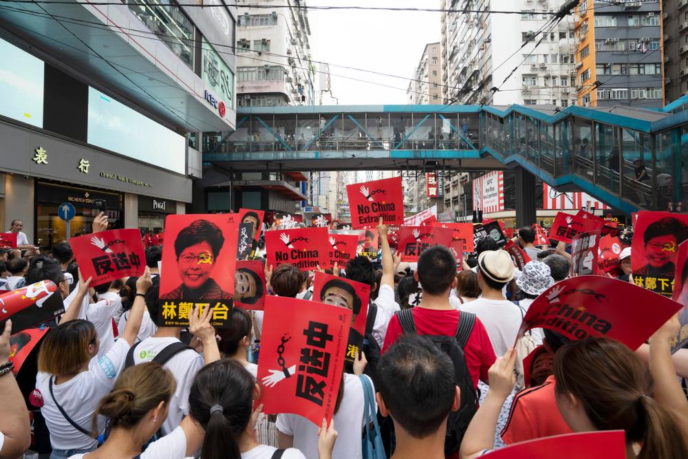 manifestant Hongkongais