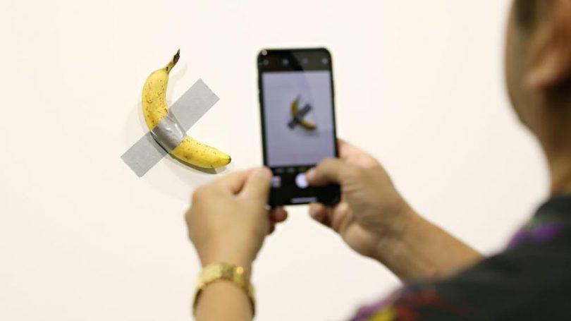 banane scotché