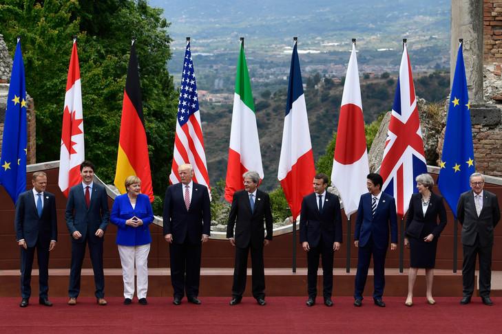 G7 : L'Union européenne fait la leçon à Trump
